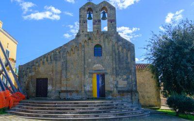 Villamar, Chiesa di San Pietro